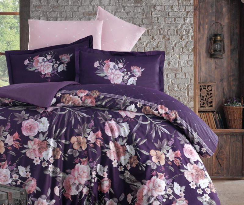 Set posteljina King Satin Supreme