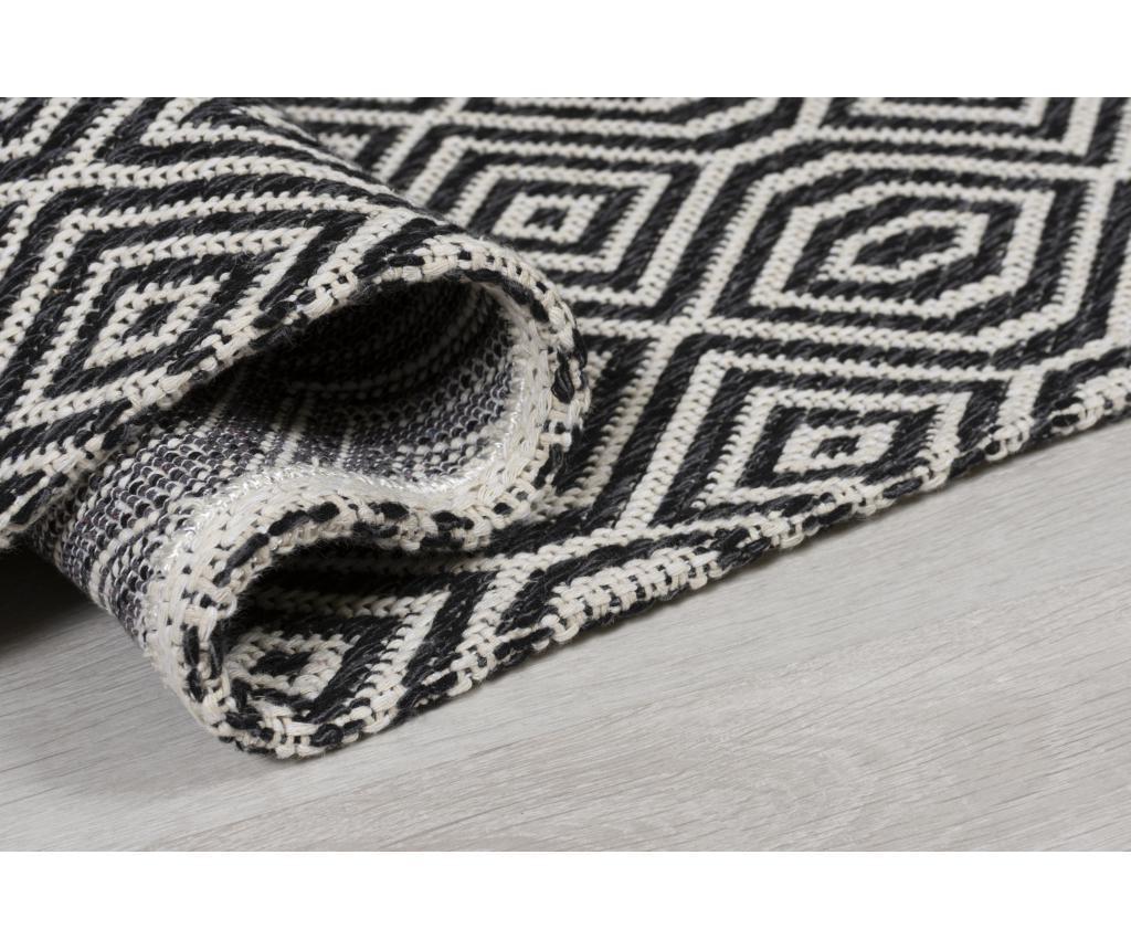 Tepih Pappell Black Cream 192x290 cm