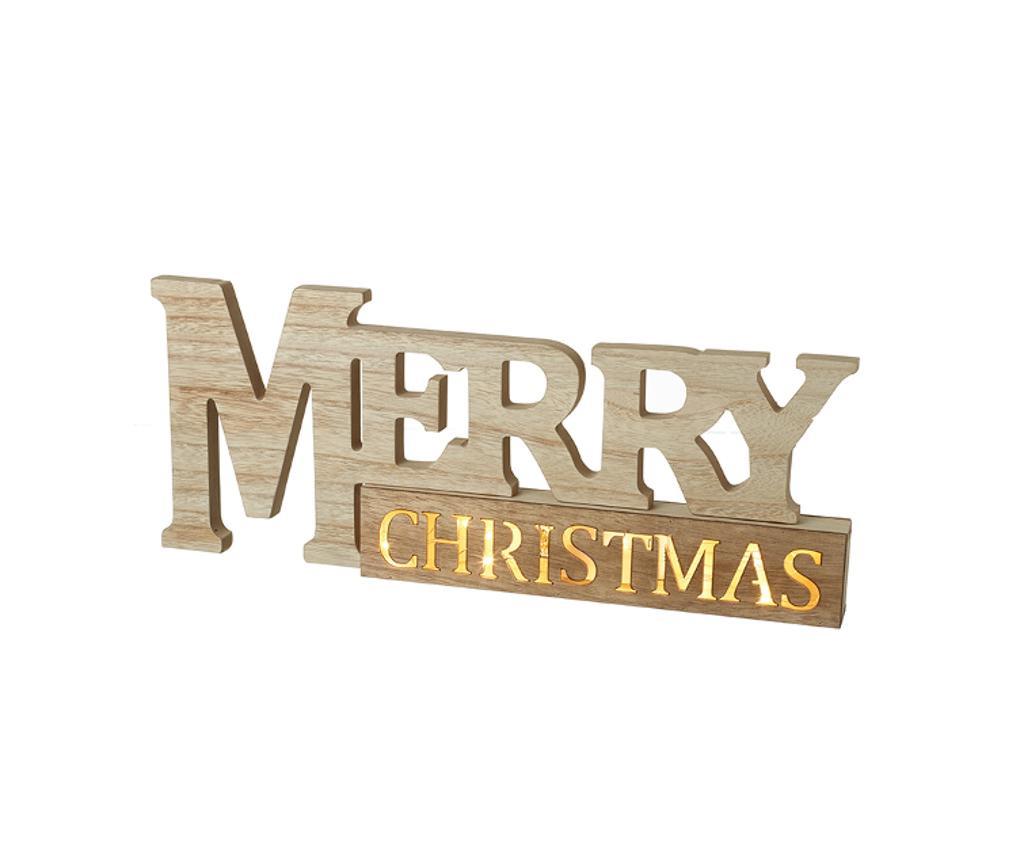 Merry Christmas Fali fénydekoráció