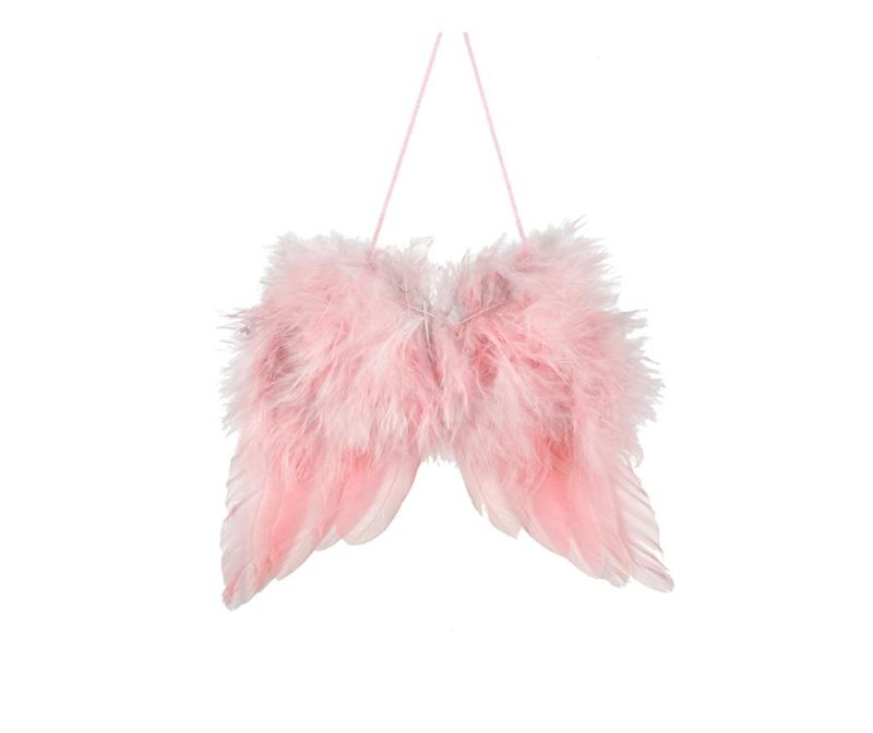 Viseći ukras Pink Feather