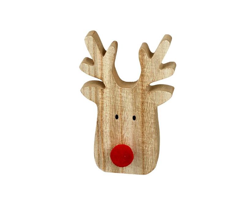 Dekorace Reindeer Head