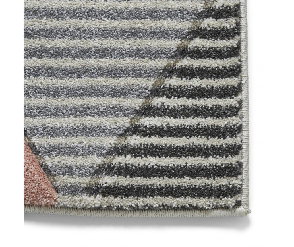 Matrix Grey Pink Szőnyeg 160x220 cm