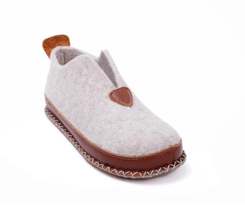 Ženske kućne papuče Ivy Cream 40