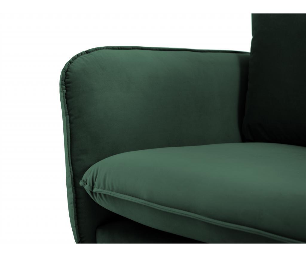 Canapea 3 locuri Florence Bottle Green
