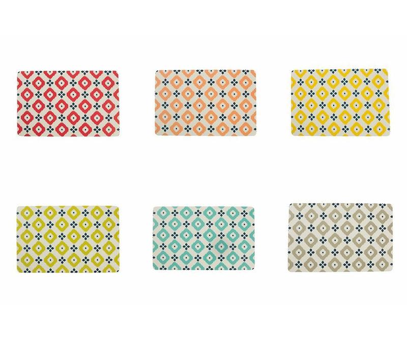 Set 6 podmetača Fiji Pattern 28x44 cm