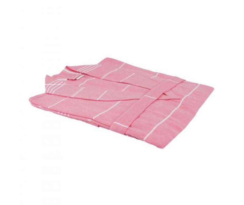 Peshtemal kopalni plašč Classic Pink
