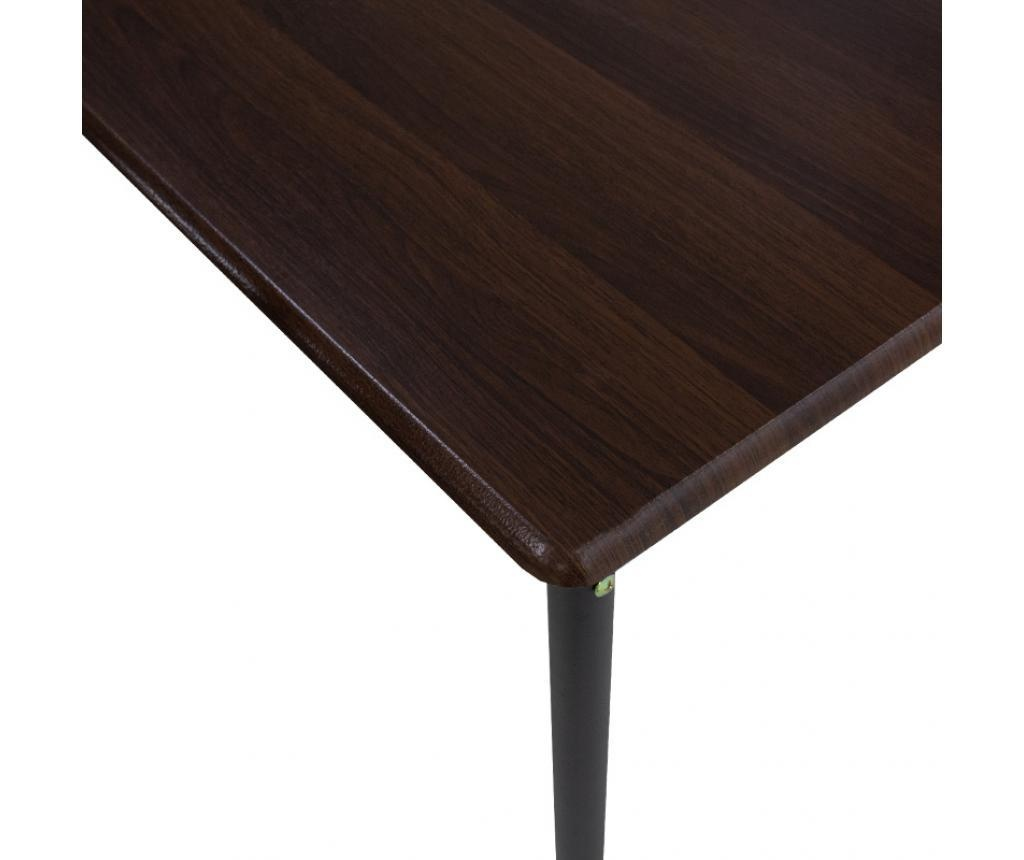 Set stol i 4 stolica Roza Walnut