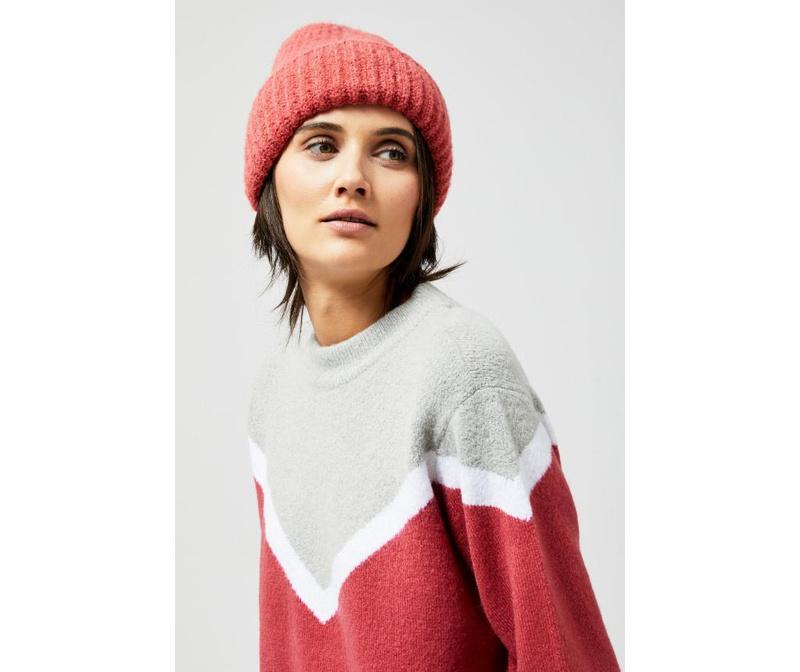 Ženska zimska kapa Chloe Golden Rose