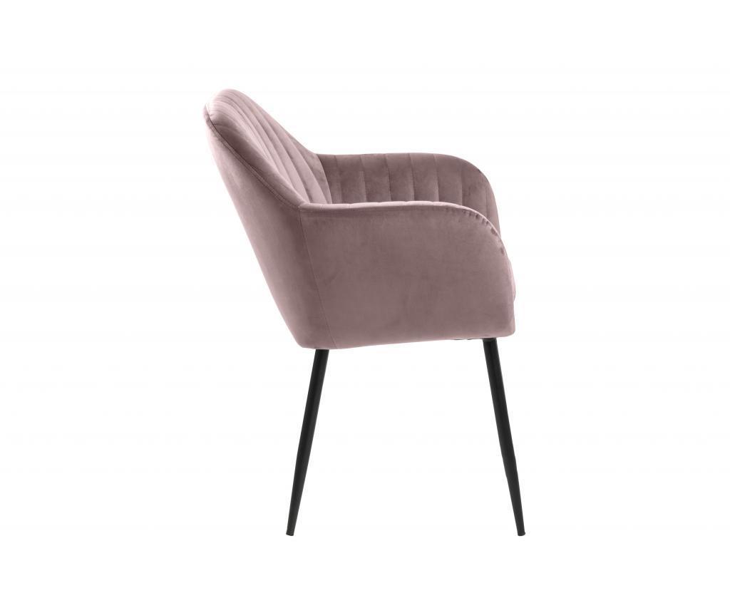 Stolička Emilia Pink