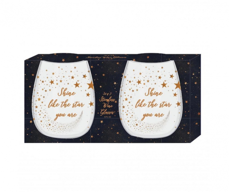 Set 2 čaša za vino Starry Night