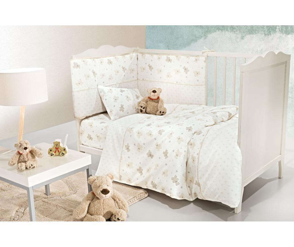 Set posteljina za krevetić Friends Natural