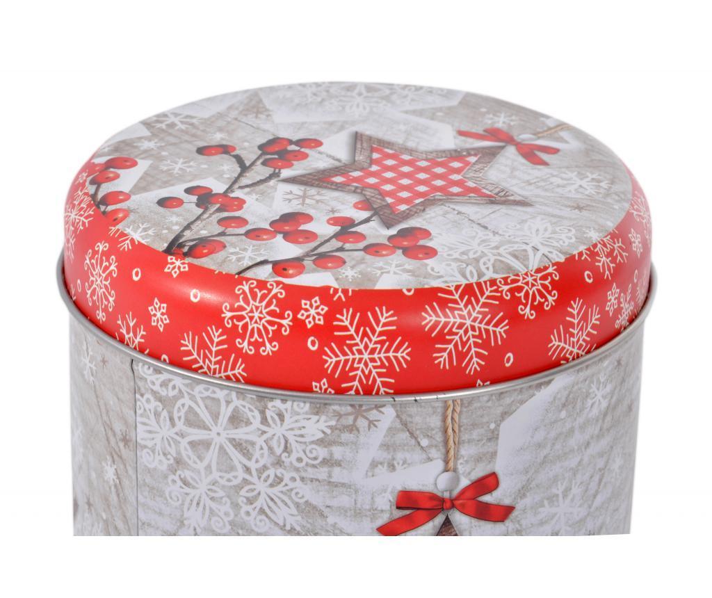 Škatla s pokrovom Christmas