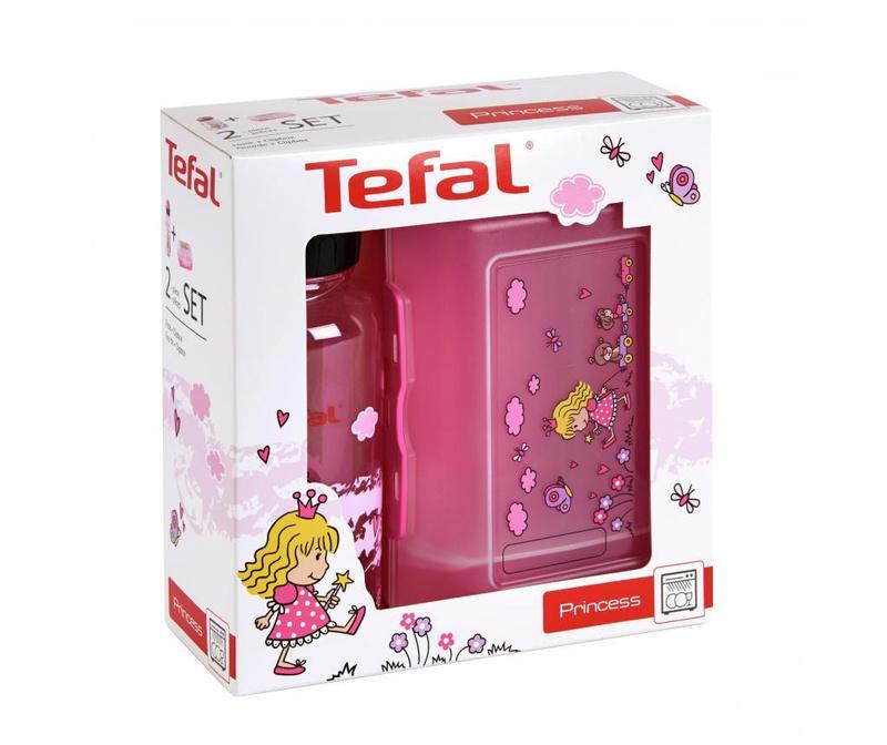 Set - športna plastenka in škatla za hrano Tefal