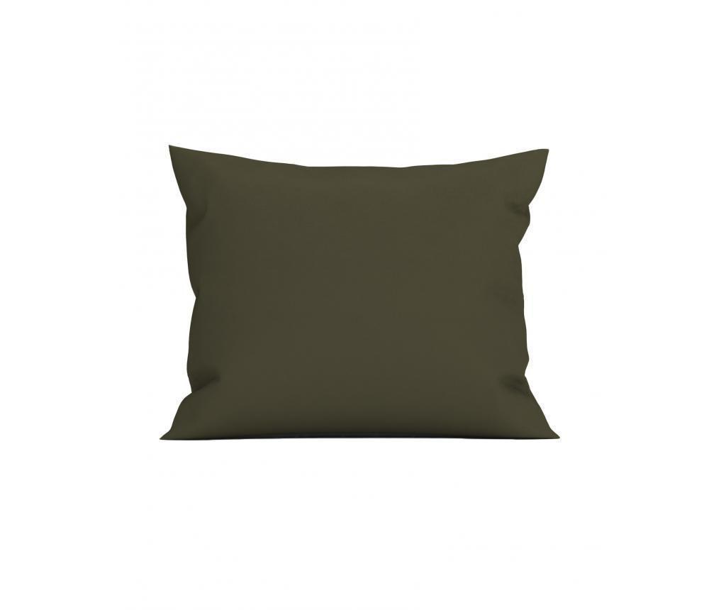 Fata de perna Perkal Olive 80x80 cm
