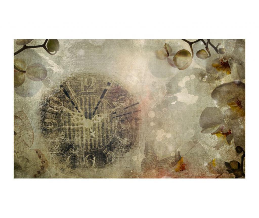 Stenska tapeta Clock Vintage 270x450 cm