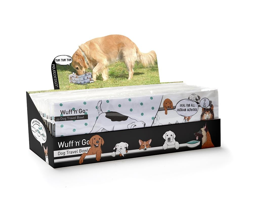 Prijenosna zdjela za vodu za pse Peleg Design Wuff n Go