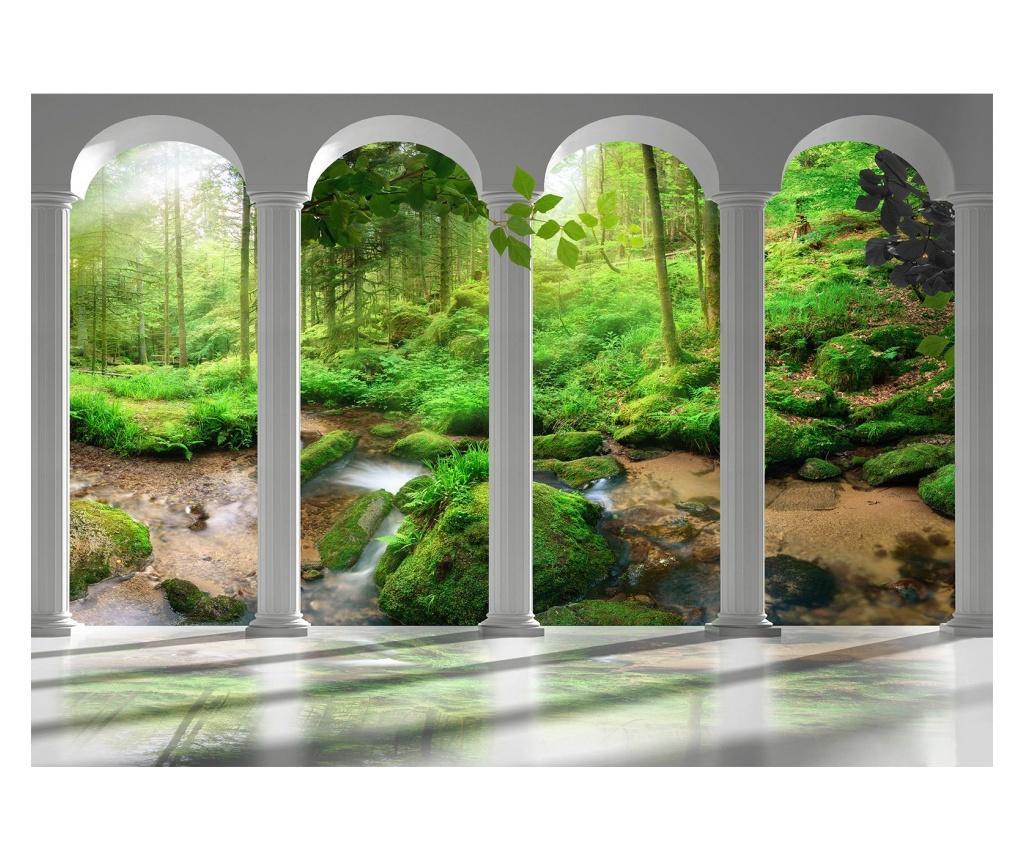 Fototapet Pillars And Forest 245x350 cm