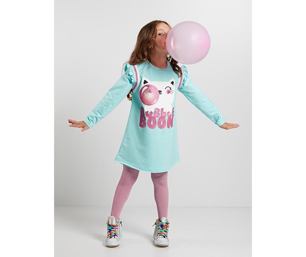 Rochie copii Bubble Gum Mint 7 ani