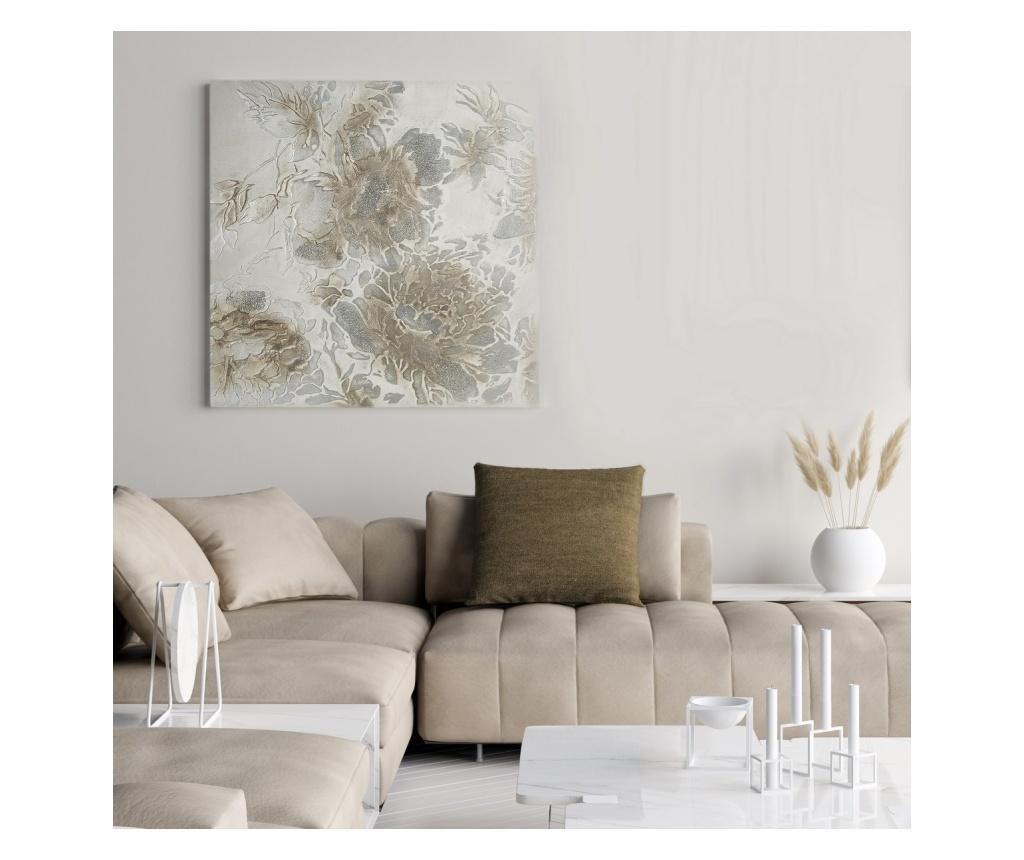 Flowers Kép 80x80 cm