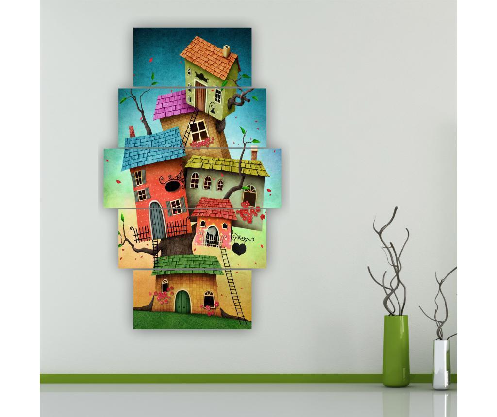 Zestaw 5 obrazów Selle