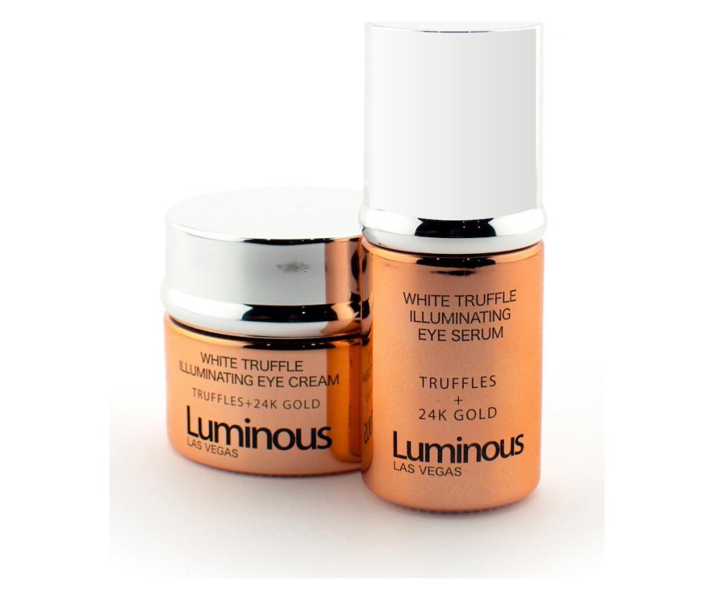 Luminous White Truffle Illuminating 2 darabos Szépségápoló készlet