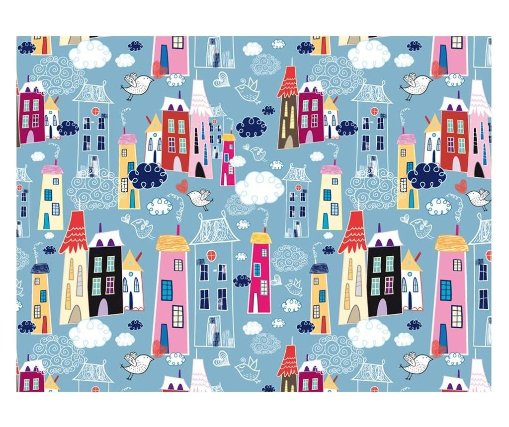 Stenska tapeta City Among The Clouds 309x400 cm