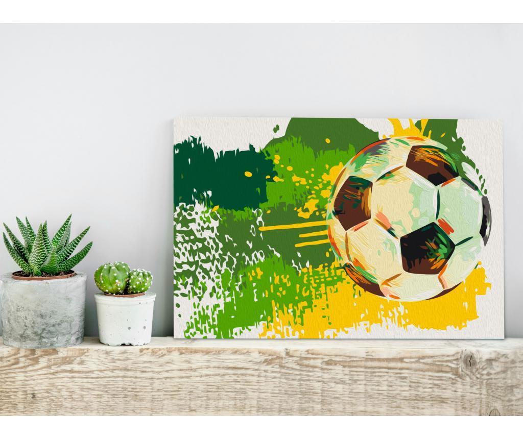 Football Emotions DIY kanavász kép 40x60 cm
