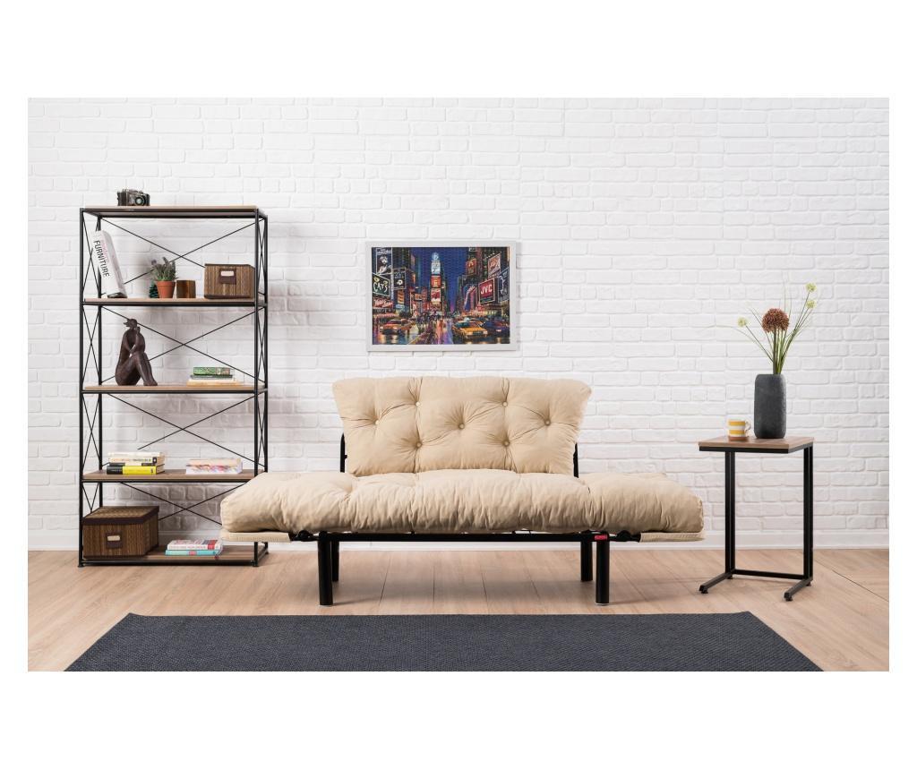 Kihúzható háromszemélyes kanapé