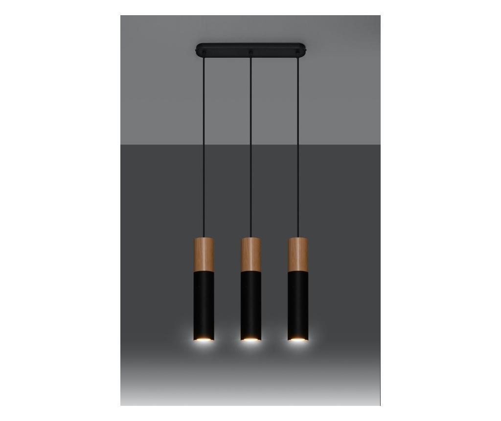 Stropna svjetiljka Paul 3 Black
