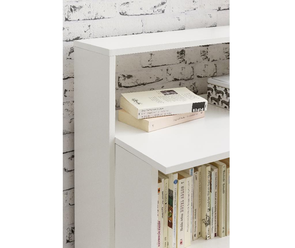 Knjižni regal Modern White