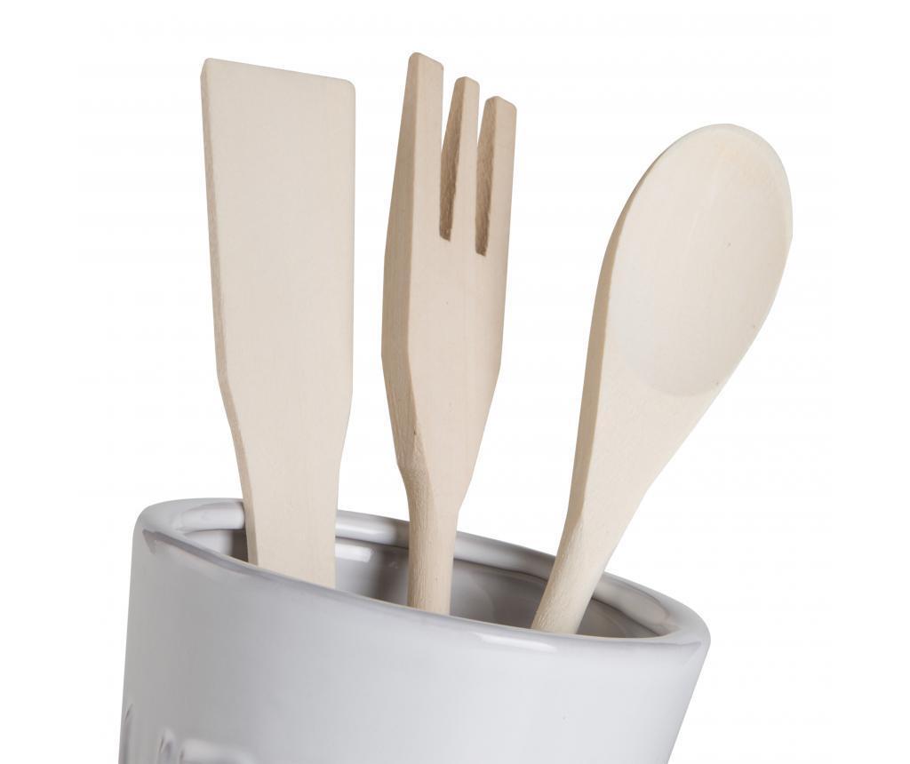 Set 3 kuhinjskih pripomočkov in držalo