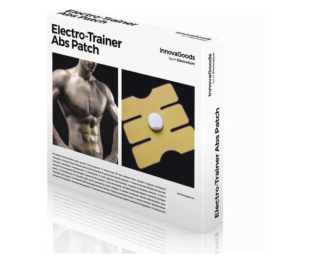 Plasture electric de stimulare a muschilor abdominali