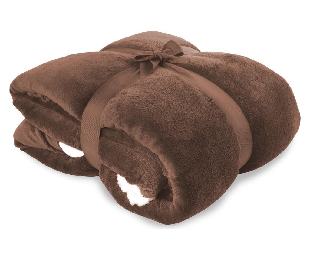 Teddy Brown Pléd 170x210 cm