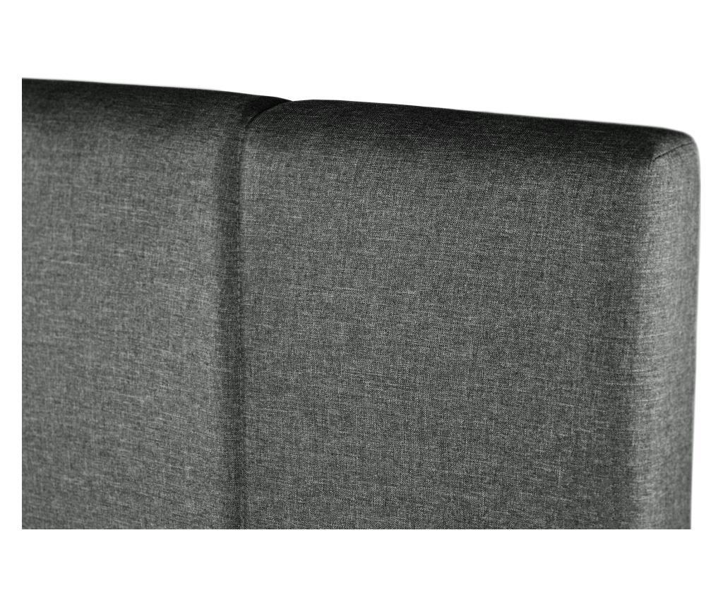 Onyx Anthracite Ágy tárolódobozzal 180x200 cm