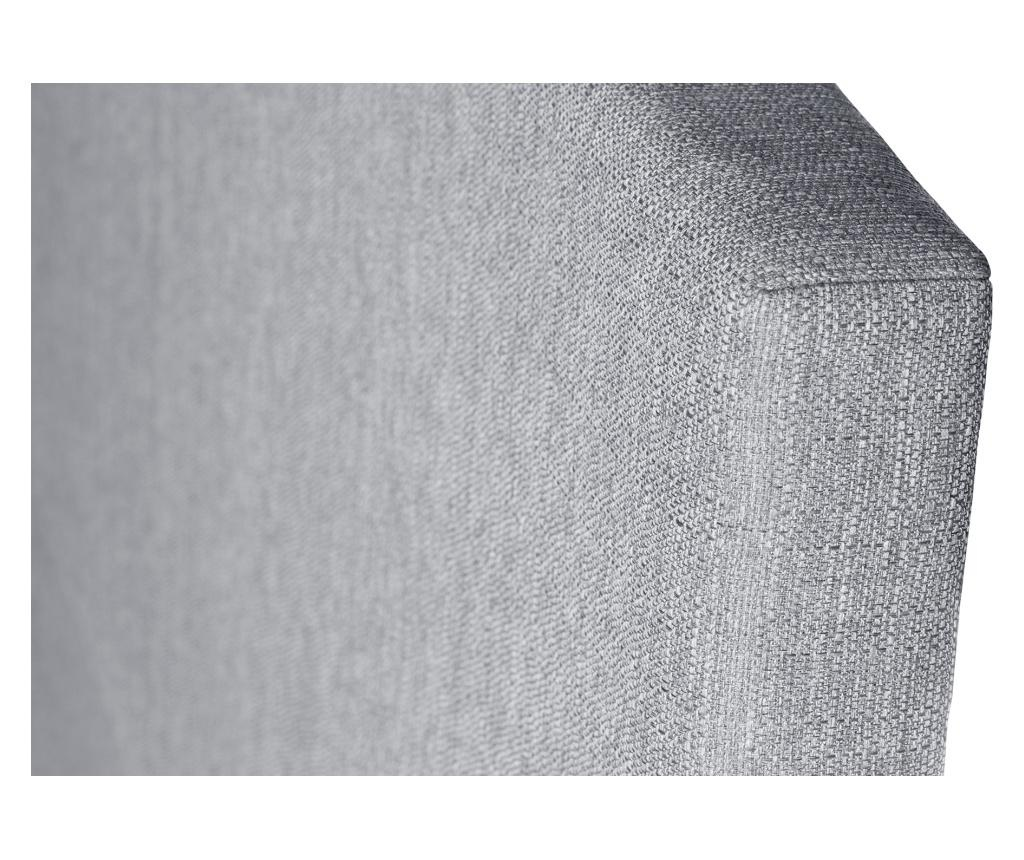Tablie de pat Jade Light Grey 180x118 cm