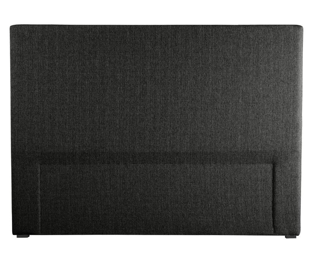 Tablie de pat Jade Black 140x118 cm