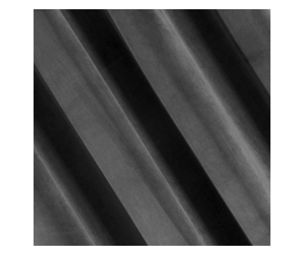 Zasłona Velvet Steel 140x250 cm