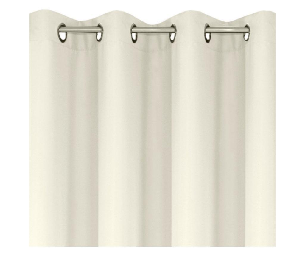 Rita Cream Rings Sötétítő 140x250 cm