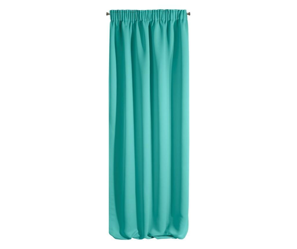 Logan Turquoise Sötétítő 135x270 cm