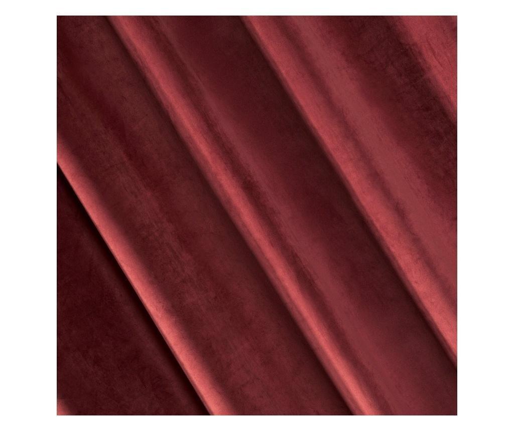 Draperie Ria Red Rings 140x250 cm