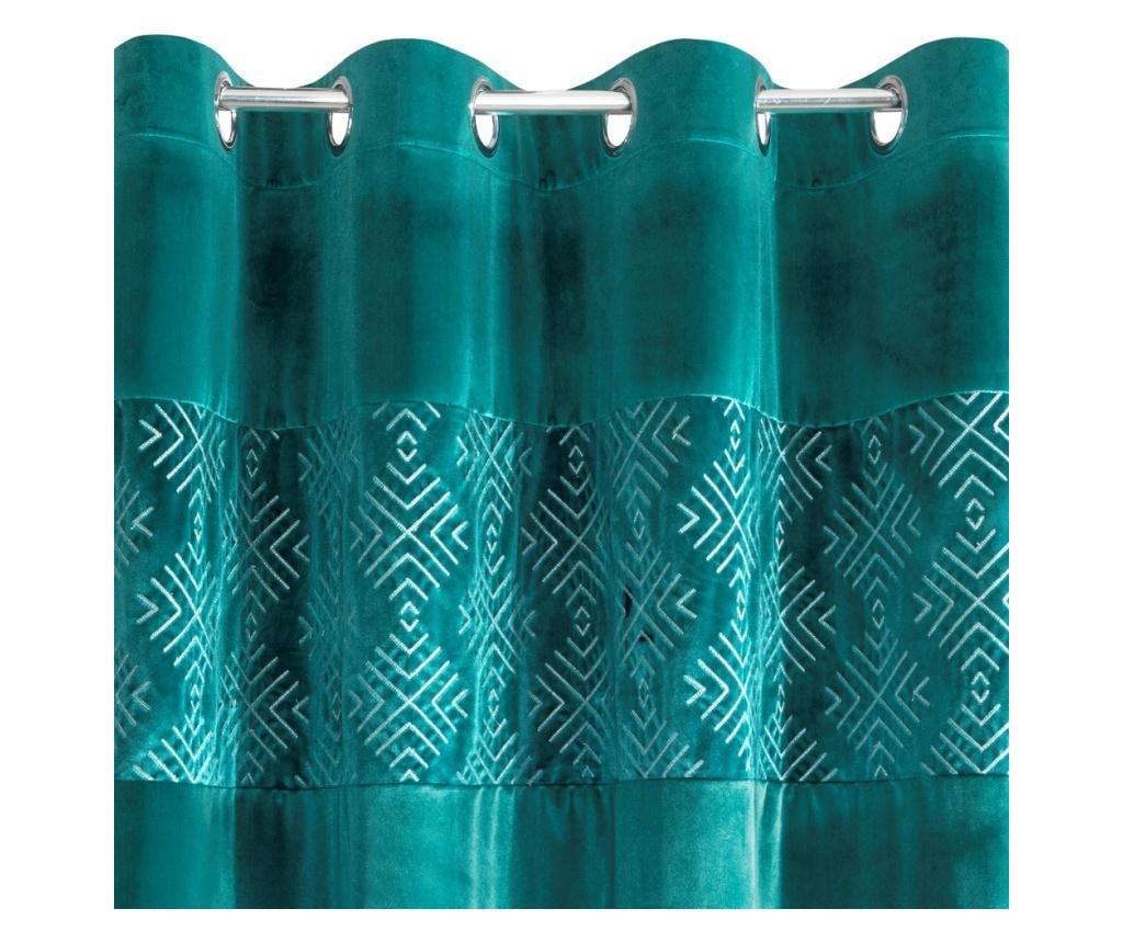 Mahika Green Rings Sötétítő 140x250 cm