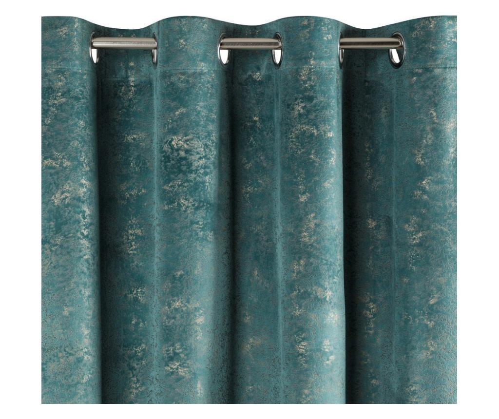 Draperie Arnita Green Rings 140x250 cm