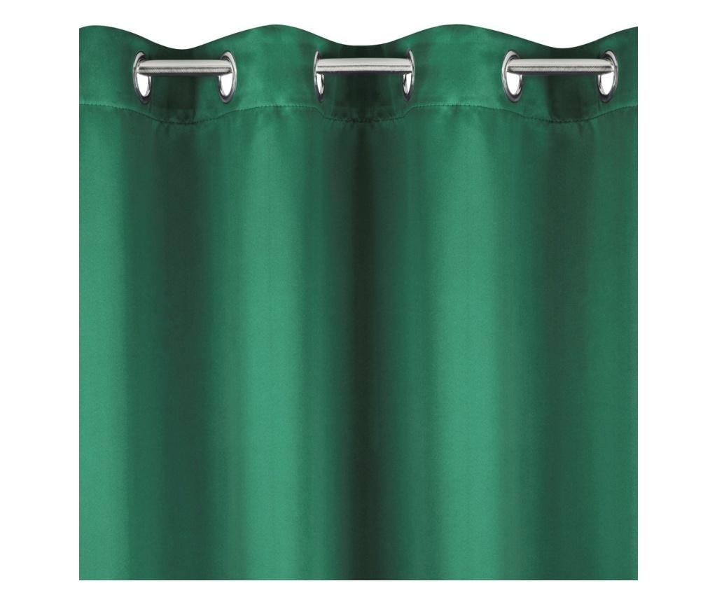 Draperie Blackout Green Rings 135x250 cm