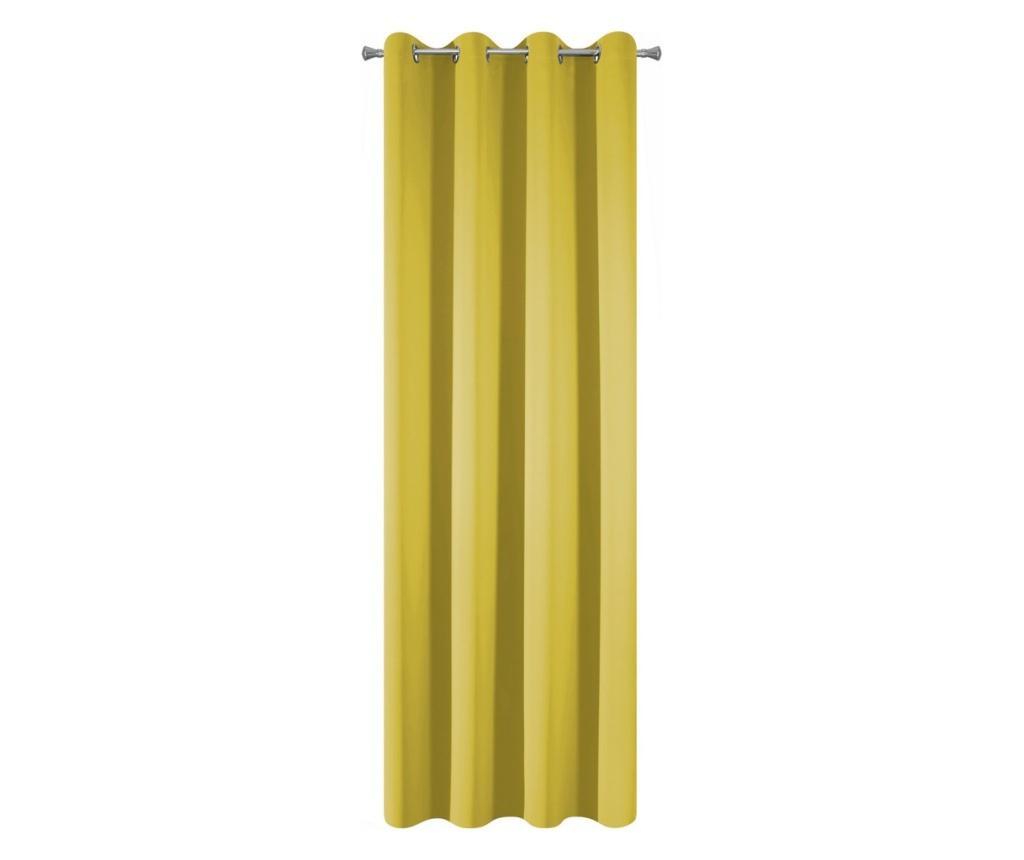 Завеса Blackout Orange Rings 135x250 см