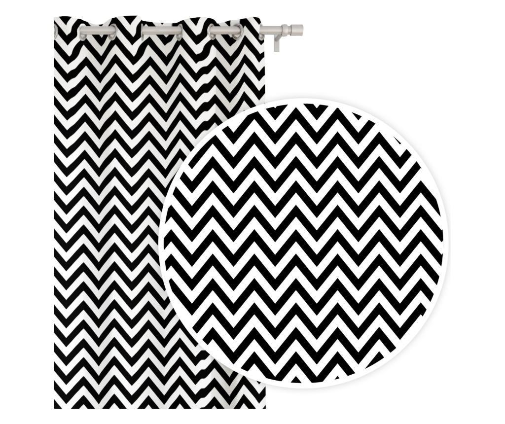 Zygzak Black Sötétítő 140x250 cm