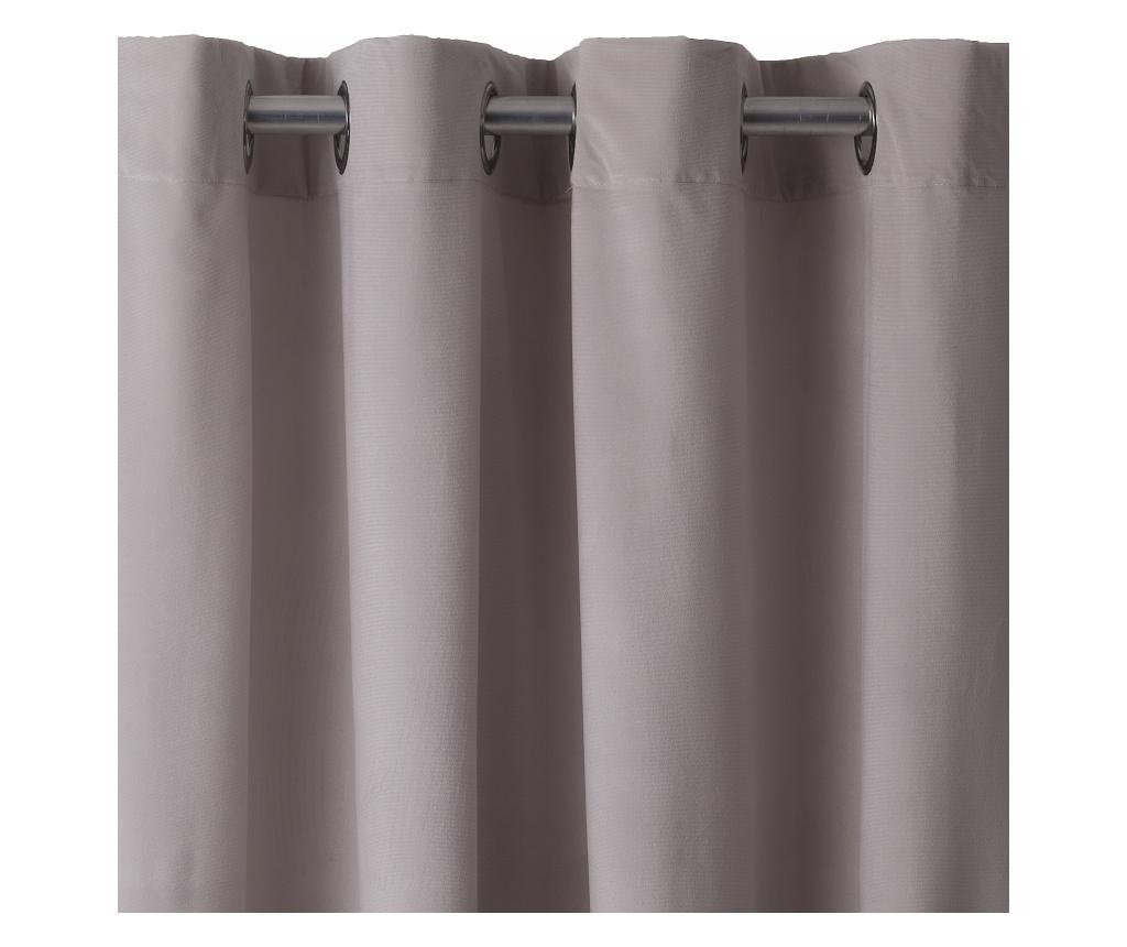 Pierre Light Grey Sötétítő 140x270 cm