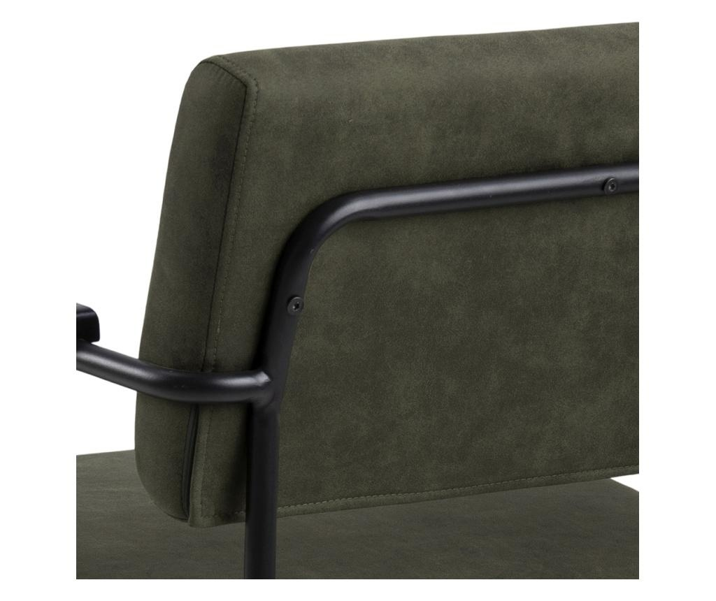 Cloe Dark Green Fotel