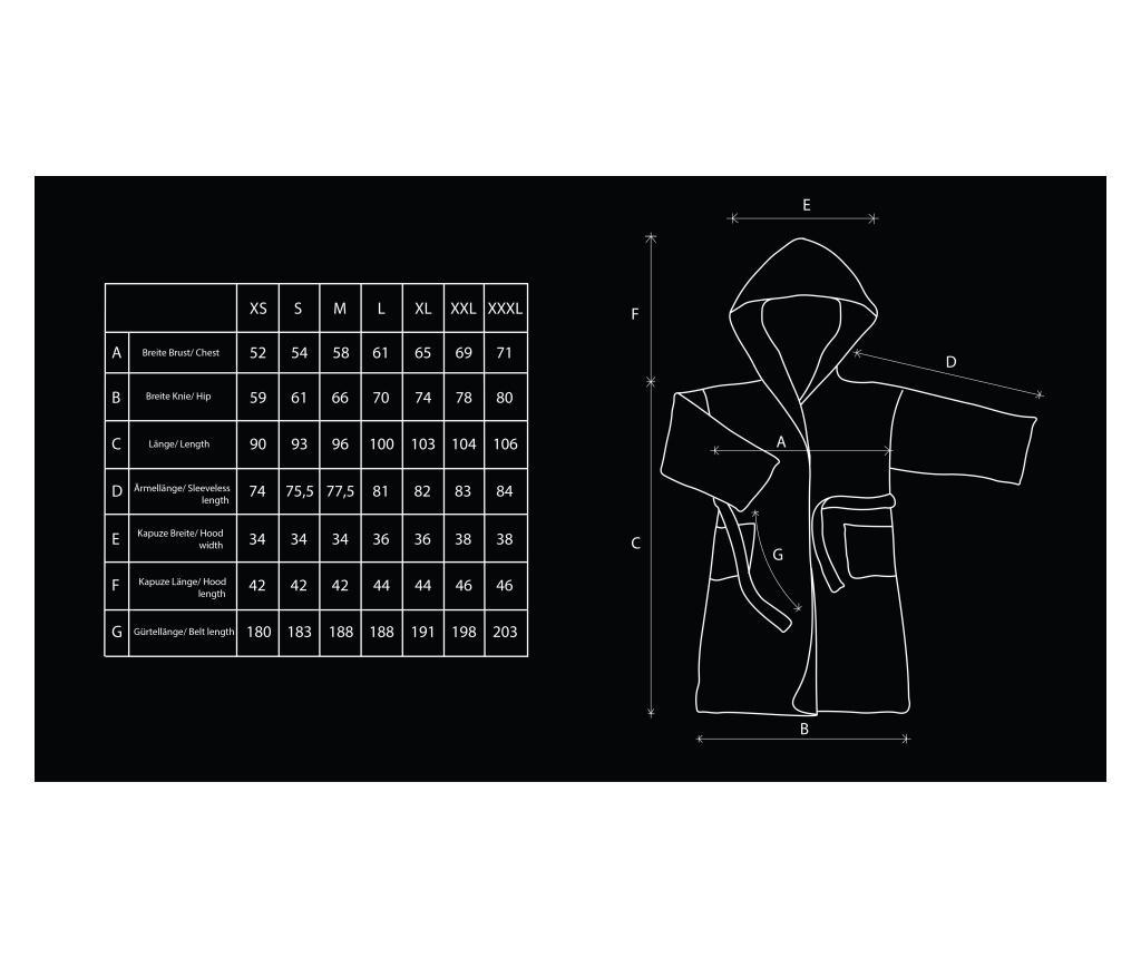 Unisex kupaonski ogrtač Sleepyhead L