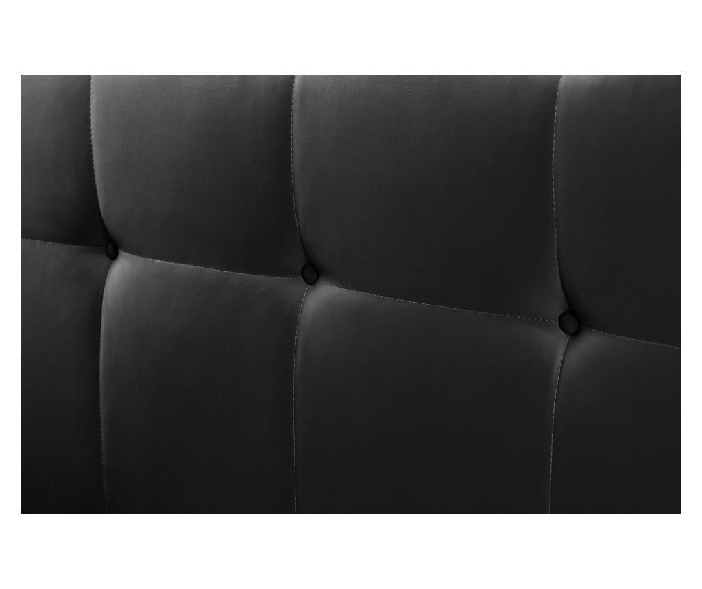 Tablie de pat Facette Black 140x118 cm