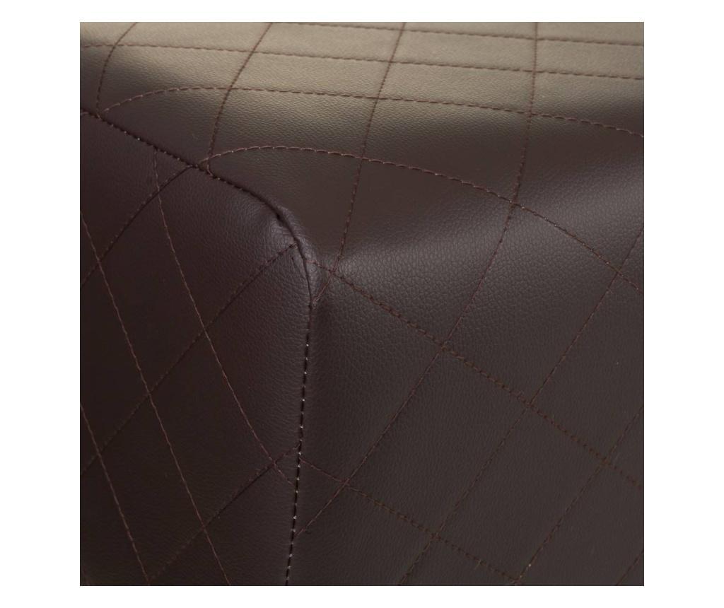 Plain Dark Brown Pad